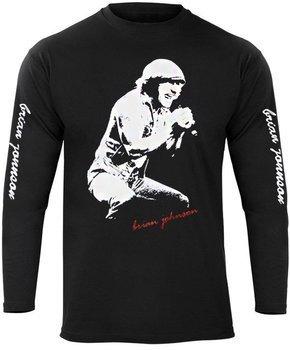longsleeve AC/DC - BRIAN JOHNSON