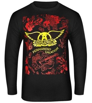 longsleeve AEROSMITH - PERMANENT VACATION