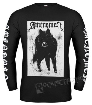 longsleeve AMENOMEN - SNOW WOLF (OMEN037LO BLACK)