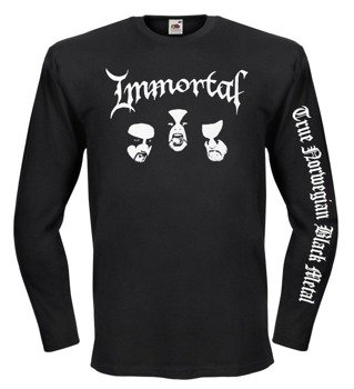 longsleeve IMMORTAL - FACES