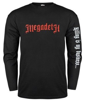 longsleeve MEGADETH - OLD RED LOGO