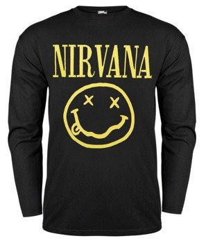 longsleeve NIRVANA - SMILEY YELLOW