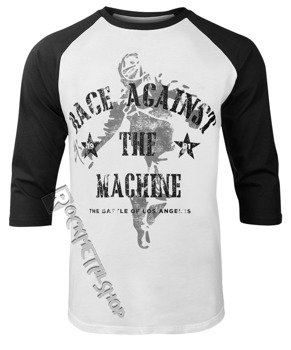 longsleeve RAGE AGAINST THE MACHINE - BATTLE, 3/4 długość rękawa