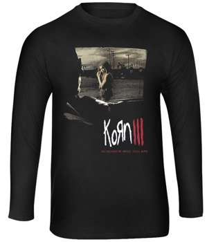 longsleeves  KORN - REMEMBER WHO YOU ARE
