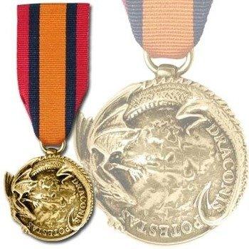 medal C.O.N. - THE CATACLYSMIC ORDER OF NIHILISM