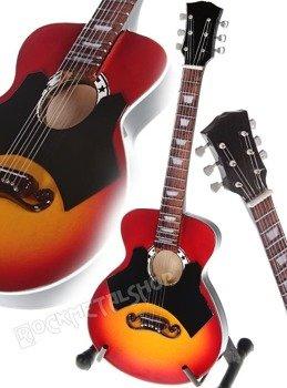 miniaturka gitary JOHNNY CASH - GIBSON J-200 VINTAGE CUSTOM