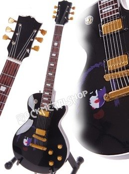 miniaturka gitary KISS - PAUL STANLEY: LES PAUL BLACK