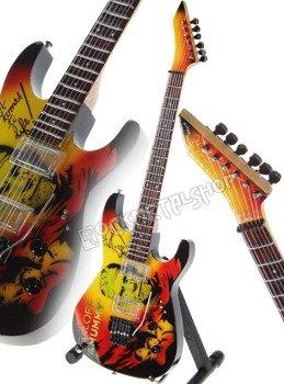 """miniaturka gitary METALLICA - KIRK HAMMETT: ESP KH-2 M II - Boris Karloff """"Mummy"""""""
