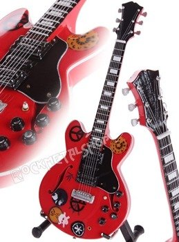 miniaturka gitary TEN YEARS LATER: ALVIN LEE GIBSON SG-335