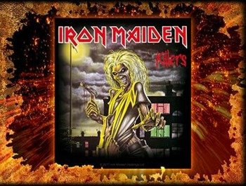 naklejka IRON MAIDEN - KILLERS