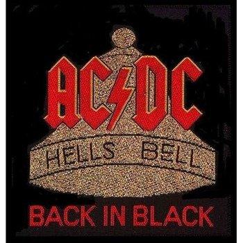 naszywka AC/DC - BACK IN BLACK