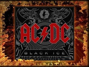 naszywka AC/DC - BLACK ICE