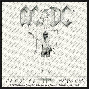 naszywka AC/DC - FLICK OF THE SWITCH