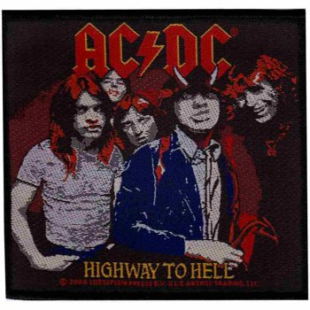 naszywka AC/DC - HIGHWAY TO HELL