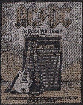 naszywka AC/DC - IN ROCK WE TRUST