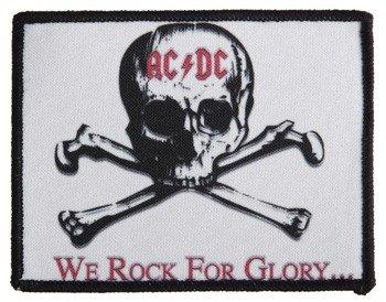 naszywka AC/DC - WE ROCK FOR GLORY