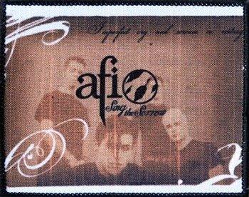 naszywka AFI - SING THE SORROW