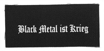 naszywka BLACK METAL IST KRIEG