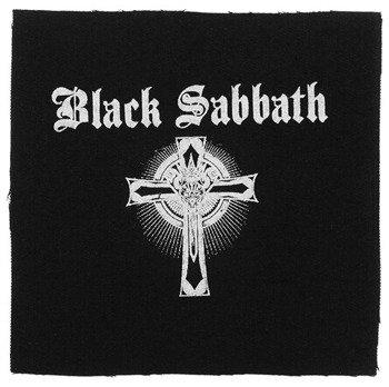 naszywka BLACK SABBATH - LOGO CROSS