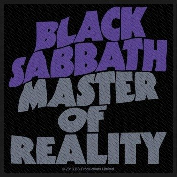 naszywka BLACK SABBATH - MASTER OF REALITY