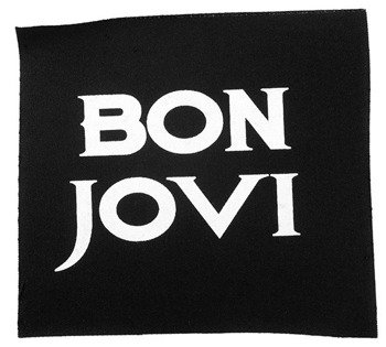 naszywka BON JOVI - LOGO