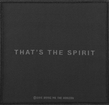 naszywka BRING ME THE HORIZON - THAT'S THE SPIRIT