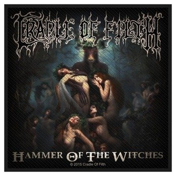 naszywka CRADLE OF FILTH - HAMMER OF THE WITCHES