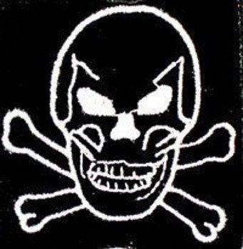 naszywka Czacha  Pirat