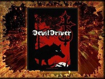 naszywka DEVILDRIVER - WOLF