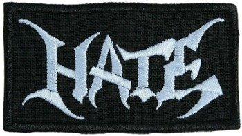 naszywka HATE - LOGO