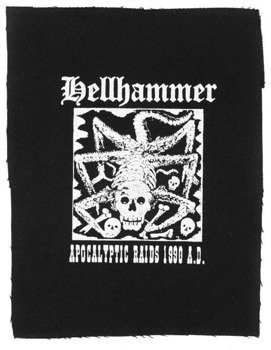 naszywka HELLHAMMER - APOCALYPTIC RAIDS
