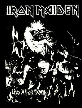 naszywka IRON MAIDEN - LIVE AFTER DEATH