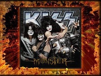 naszywka KISS - MONSTER