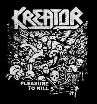 naszywka KREATOR - PLEASURE TO KILL