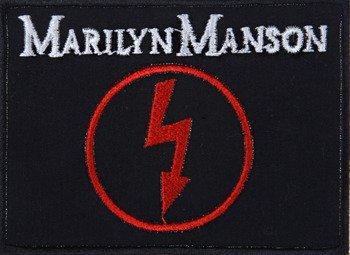 naszywka MARILYN MANSON