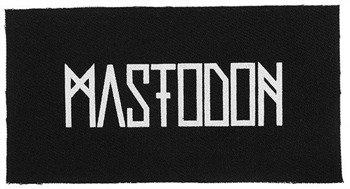 naszywka MASTODON -  LOGO