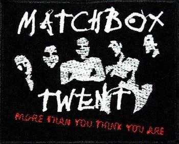 naszywka MATCHBOX - TWENTY