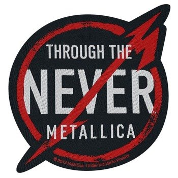 naszywka METALLICA - THROUGH THE NEVER