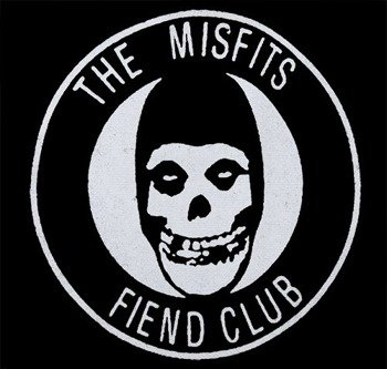 naszywka MISFITS - FIEND CLUB