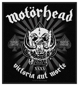 naszywka MOTORHEAD - VICTORIA AUT MORTE 1975-2015