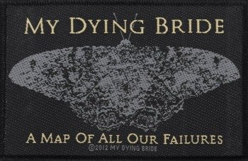 naszywka MY DYING BRIDE - A MAP OF ALL OUR FAILURES