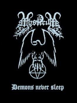 naszywka MYSTICUM - DEMONS NEVER SLEEP
