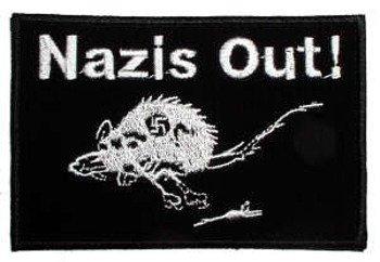 naszywka NAZIS OUT