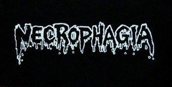 naszywka NECROPHAGIA - LOGO