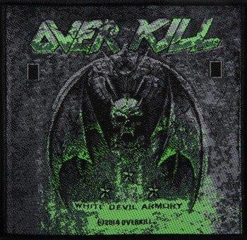 naszywka OVERKILL - WHITE DEVIL ARMORY