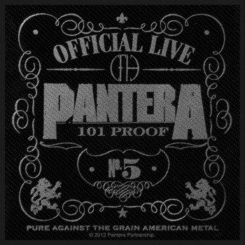 naszywka PANTERA - 101% PROOF