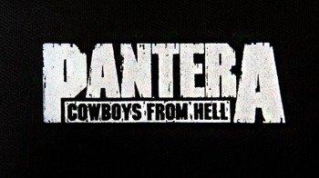naszywka PANTERA - COWBOYS FROM HELL