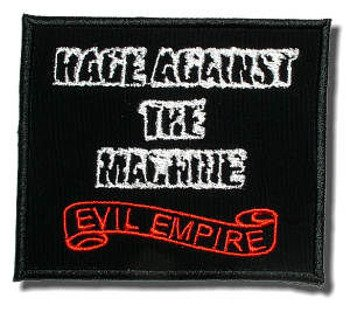 naszywka RAGE AGAINST THE MACHINE - EVIL EMPIRE