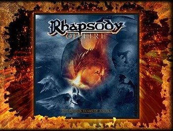 naszywka RHAPSODY OF FIRE - THE FROZEN TEARS OF ANGELS