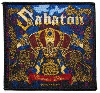 naszywka SABATON - CAROLUS REX